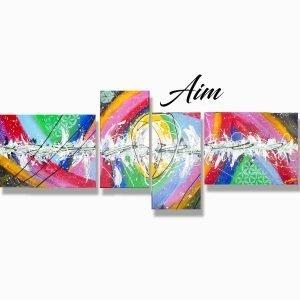 Aim Abstract Art 60x30x0.75