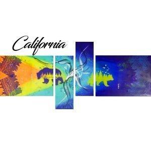 Abstract Bear Art - California - Main