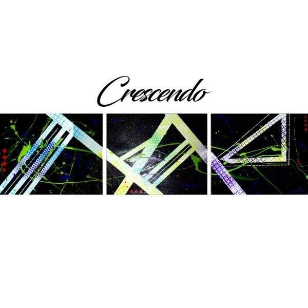 Abstract Black & Neon Art - Crescendo - Main