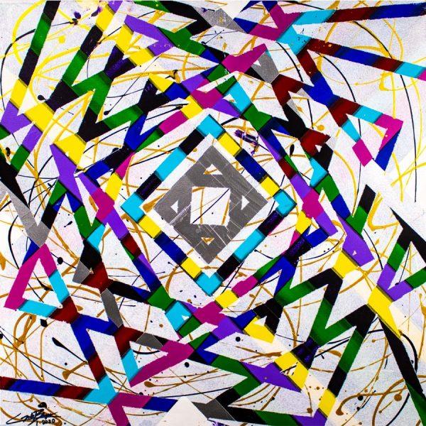 Timewarp Abstract Art Thumb